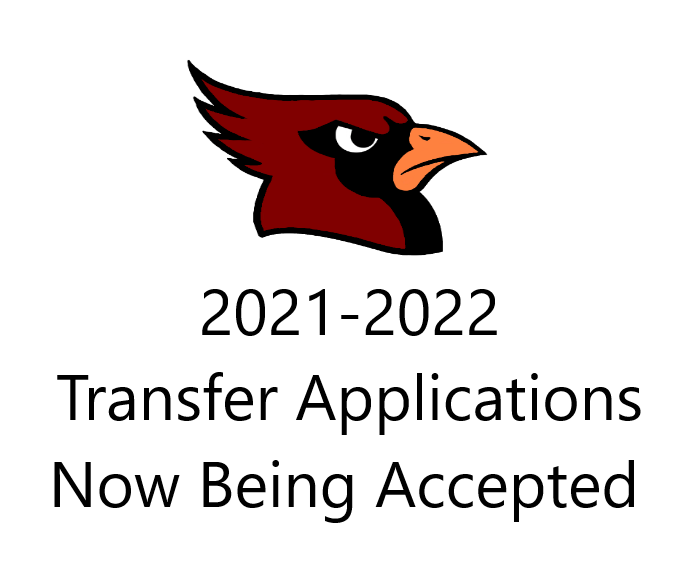 2021-2022 Transfer Applications Now Being Accepted